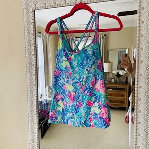 Lilly Pulitzer athletic tank